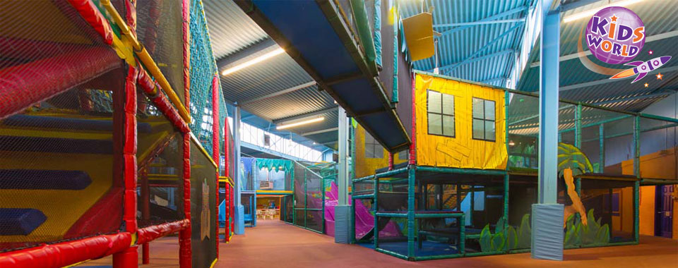 Image of soft play frames